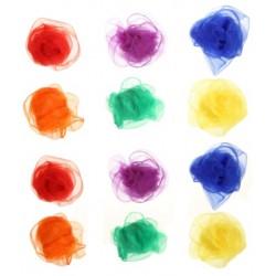 12 foulards de jonglage