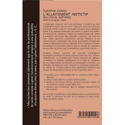 Livre - L'allaitement instinctif - Suzanne Colson