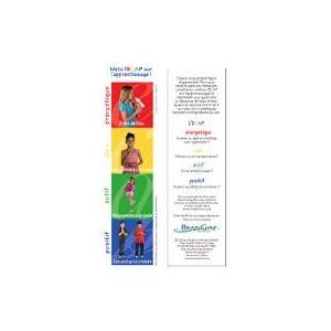 Marque-page ECAP (paquet de 20)