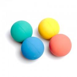 4 balles rebondissantes pour jonglage au sol