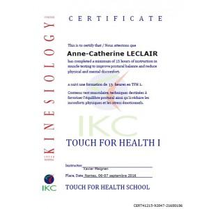 Code Certificat IKC TFH 1