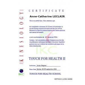 Code Certificat IKC TFH 2