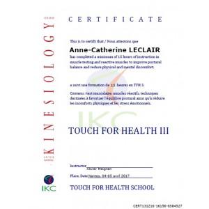 Code Certificat IKC TFH 3