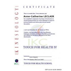 Code Certificat IKC TFH 4