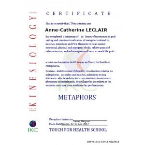 Code Certificat IKC TFH & Métaphores