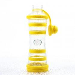 """Bouteille d'eau informée i9 """"Solaire"""" (Chakra plexus solaire - Jaune)"""