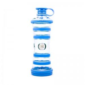 """Bouteille d'eau informée i9 """"Relaxation"""" (Chakra Gorge - Bleu)"""