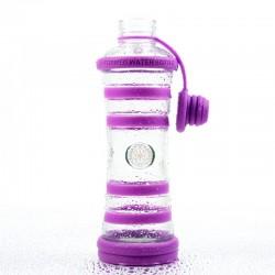 """Bouteille d'eau informée i9 """"Sagesse"""" (Chakra Couronne - Violet)"""