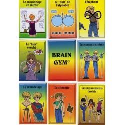 Jeu de cartes de Brain Gym