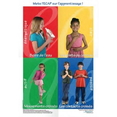 Poster Brain Gym Enfant ECAP